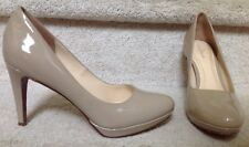 COLE HAAN CHELSEA Leather Maple Sugar Platform LUXE + COMFORT Pump SZ 9.5
