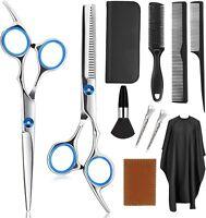 Coupe cheveux ciseaux coiffure cisailles outils professionnels salon robe coi LB