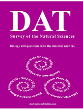 Biology Study Guide for Survey of the Natural Sciences of the DAT