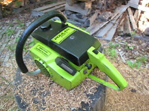 Vintage 1970's very nice Poulan 306a Chainsaw -working chain saw-  16 inch bar