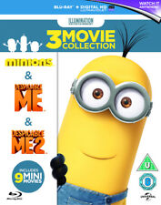Despicable Me/Despicable Me 2/Minions Blu-Ray (2015) Pierre Coffin cert U 3