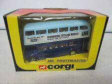 Corgi Double Decker Bus Routemaster 469 Trowbridge Toys and Models