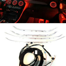 64 color Illuminated LED Ambient Atmosphere light For Mercedes W205 C GLC 15-18