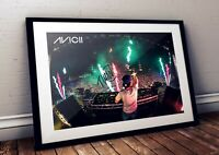 Avicii Live Onstage Autographed Poster Print. A3 A2 A1 Sizes