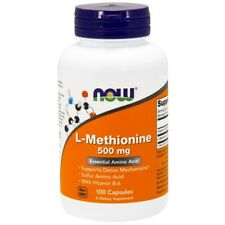 Now Foods, L-Methionine, 500 mg, 100 Capsules