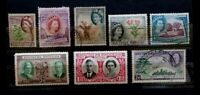 Southern Rhodesia 8 Stamps    G065     Free Shipping