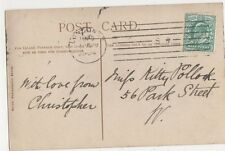 London SW 1904 Machine Cancel Postmark on Postcard, B393