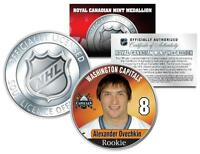 2005 ALEXANDER OVECHKIN #8 NHL Washington Capitals RCM Rookie COIN - Licensed