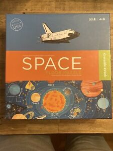 AWARD WINNING CROCODILE CREEK '09 SPACE FLOOR PUZZLE-MSRP $40-NEW-SEALED BOX
