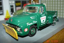 1954 FORD F-100 Sinclair Service Pickup Plow Truck, 1:43, O Scale, Matchbox