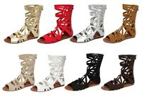 sonia-83 New Fashion Sandals Zipper Gladiator Party Beach Casual Women's Shoes
