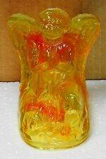 Boyd Glass Lg Angel Orange Glow (glows under black light) 2012