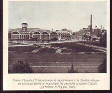 1929  --  TCHECOSLOVAQUIE  USINE D IGNATZ AZOTE  W193