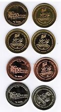 LOT of 3 Nanaimo BC Trade Tokens 2008  $5 CU NS FBZ 150th anniversary