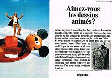 PUBLICITE ADVERTISING 014   1970    RODIER   tricots ( 2 pages) STYLE ART DECO