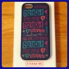 New COACH Cellphone Case for iPhone 5 - DSY PATCH - F64557