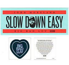 John Moreland Big Bad Luv 2017 Ltd Ed Rare Sticker/Tattoo +Free Folk Stickers!