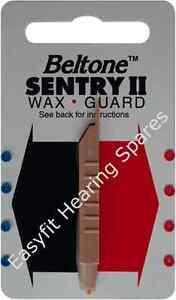 Beltone Sentry II Wax Guards - Pack 8 (4 Red, 4 Blue)
