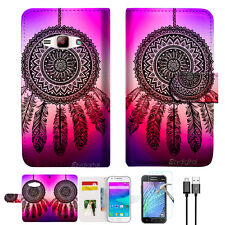 Dream Catcher Wallet Case Cover For Samsung Galaxy J16 J1 2016-- A027