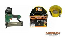 OMER 14.50 16 GAUGE AIR FINISH NAILER WITH 10M AIR HOSE