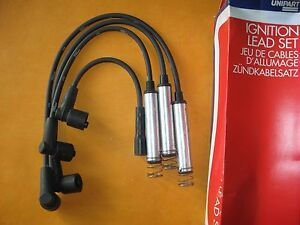 VAUXHALL NOVA, ASTRA,OPEL CORSA 1.6i (89-93) NEW UNIPART IGNITION LEADS SET