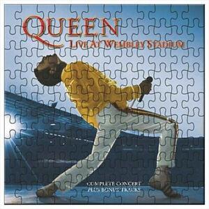 Queen Live At Wembley 1000 Piece Puzzle