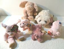 Boyds Bears Plush Pig and Other Plush Pigs Lot All With Tags