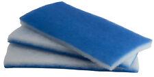 inTank AQUARIUM & POND FILTER FLOSS - VALUE PACK BONDED BLUE WHITE POLY 600 SQIN