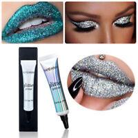 Multifunction Shimmer Eyeshadow Glitter Base Glue Cream Face Makeup Primer