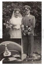 Cavalry Nonregulative Totenkopf skull cap DRL Sport Badge German Wehrmacht photo