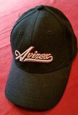 Avirex Black Wool Blend Baseball Hat Cap One Size Fits Most