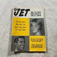 JET Magazine July 13 1961 Sammy Davis May Britt