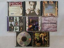 PRINCE 8 CD LOT - PURPLE RAIN-VERY BEST-HITS-MUSICOLOGY-DIAMONDS & 1999 & MORE