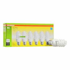 SYLVANIA 6-Pack 60-W Equivalent Soft White A19 CFL Light Fixture Light Bulbs