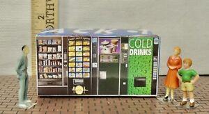 ONE QUAD Vending Machine  FOR (O) (027)Scale, LIONEL,PLASTICVILLE DIORAMA