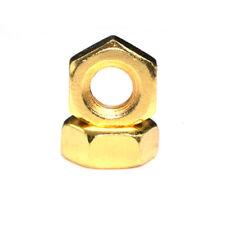 Metric M2 M2.5 M3 M4 M5 M6 Sechskantmuttern, Hex Voll Muttern Titan Plated Gold