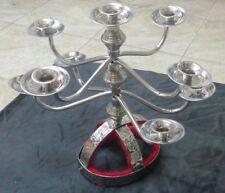 Candle Holder Candelabra Shemadan 9 Candles Handmade Egyptian Belly Dance Brass