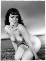 "18""x24"" Poster Bettie Page Icon  Superstar From 1950s vintage models"