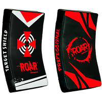 ROAR MMA Kick Boxing Strike Shield Curved Arm Pad Punch Focus Target Mitts TKD