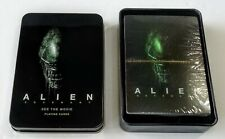 Alien Covenant Movie Playing Cards Collectors Tin Promo Ridley Scott 2017 SEALED