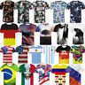 Flag Women's Men's Patterned 3D Print T-Shirt Casual Short Sleeve Top Summer Tee