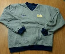 UCLA BRUINS small pull-over jacket Reebok embroidery reversible Los University