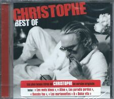 CD Christophe Best Of  Neuf sous cellophane