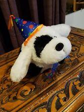 "Animated Dog Barks ""Happy Birthday"""