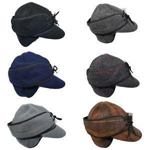 Wyoming Traders Mackenzie Fold Down Ear Flaps Australian Wool Cap Hat