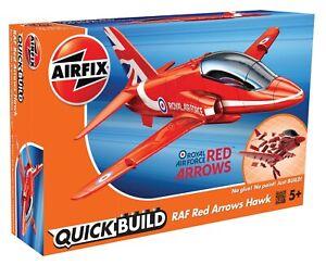 Brand New Airfix Quick Build RAF Red Arrows Hawk Model Kit.