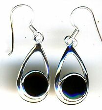 Unbranded Sterling Silver Onyx Fine Earrings
