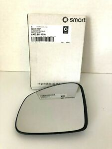 Genuine Smart Fortwo 453 Mirror Glass Left 4538114000 (2016-2018)