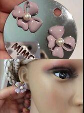 ❤️❤️❤️Mimco Babby Bow $59.95 Lilac Stud Earrings Brand New + Dust Bag