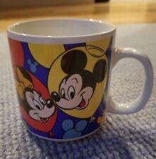 Disney Korea Mickey And Friends Coffee Mug Cup Donald Pluto Minnie Goofy